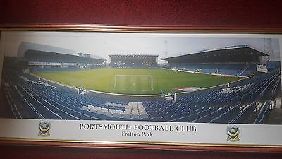 Portsmouth FC Framed Photography Of Fratton Park