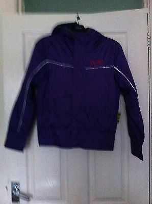 O'Neill ski jacket coat embroidered purple girls age 10 yrs  (152)
