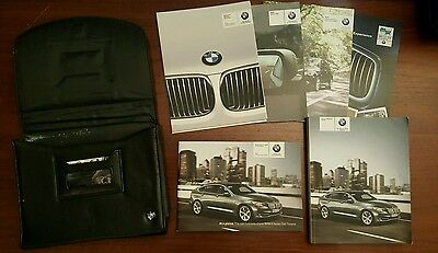 2010 BMW 5 Series GT Gran Turismo Owners Manual Set with Case 535 550