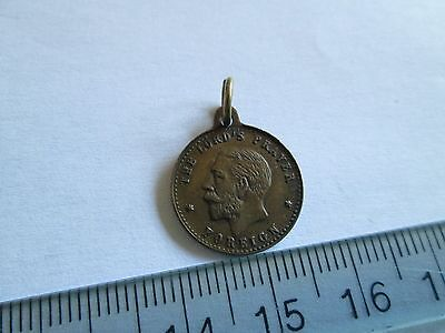 Unknown religious medal medallion coin token George V Lord's prayer Foreign