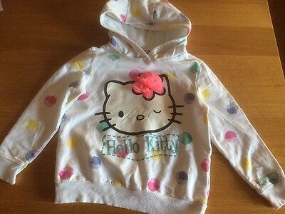 Hello Kitty Girls Hoodie Jumper Age 5-6 Years