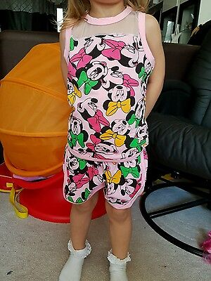 Girls shorts and top set new 4-5 years