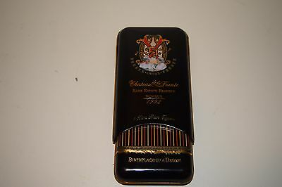 Arturo Fuente Opus X 3 Cigar Tin Box Holder Chateau Rare Estate Reserve