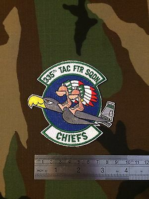 335th Tactical Fighter Squadron  F-15E Strike Eagles Afghanistan Patch