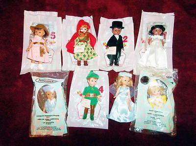 "8 - Exclusivlely For Mc Donalds Fast Food ""Madame Alexander"" Dolls 2001-2007"