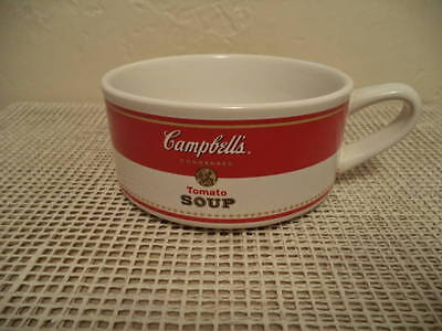 Campbells Tomato Soup Mug Advertising 1998 Ceramic Houston Harvest