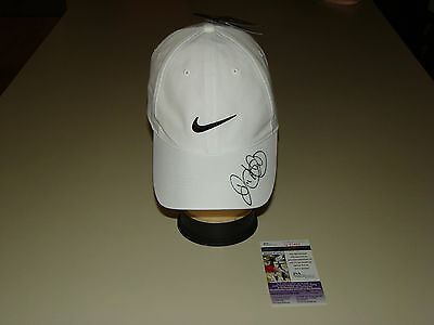 a22cdd8e8 Rory McIlroy Hand Signed Nike White Hat JSA  Q51450 Autograph Golf Cap  Signature