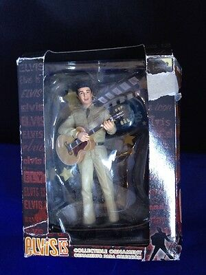 2008 Trevco Elvis Is Collectible Christmas Ornament Elvis Presley