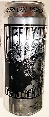 Heady Topper Double IPA alum craft beer can 16 oz Alchemist Brewery Vermont open