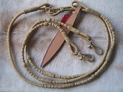 Hand Braided Natural Rawhide Show Rommel Romel Romal Reins New Horse Tack