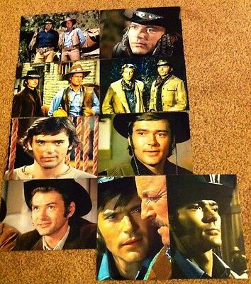 """Set 4 - 9 """"5 By 7""""  Pete Duel (Alias Smith and Jones ) Photographs."""