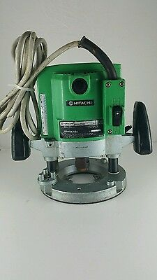 HITACHI 1500W PLUNGE ROUTER-TR-12. In full working order.
