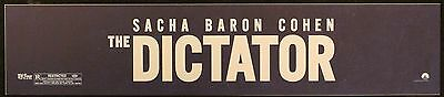 The Dictator, Large (5X25) Movie Theater Mylar Banner/Poster