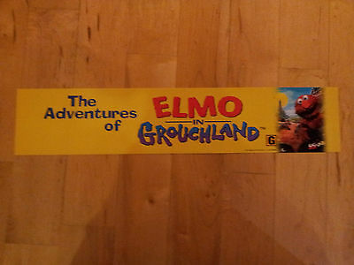 Adventures of Elmo in Grouchland, Large (5X25) Movie Theater Mylar Banner/Poster