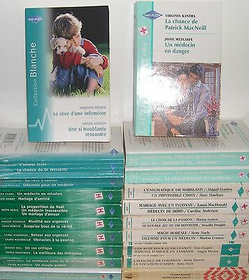 # Harlequin # Collection Blanche # Lot 1 # 20 Livres # 41 Romans#