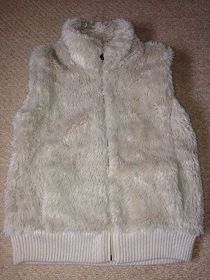 Girls Faux Fur Next Gilet Age 16 Years - Excellent Condition