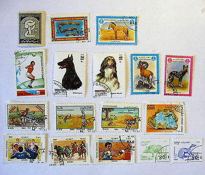 Afghanistan Afghan Old Early Stamps lot691