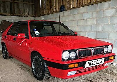 1991 Lancia Delta Integrale 2.0 HF 16v Turbo 4x4 Monza Red  + 2 Videos