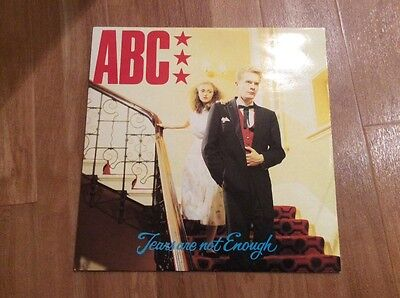 "ABC Tears are not enough 12"" vinyl record"