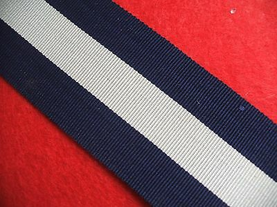 Great Britain Distinguished Service Cross 1901 Medal Ribbon Full Size 15cm long