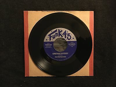 The Prepositions 'Something Different'   Jazzman 45RPM