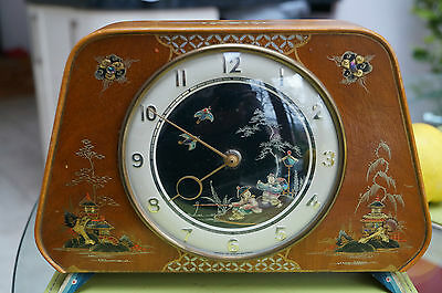 Smiths CHINOISERIE mantel clock