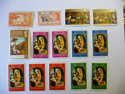 British Colonies Cayman Islands Collection of Stamps  lot721
