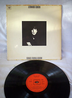 Leonard Cohen, Songs From A Room, Original 1969, Very Good Condition
