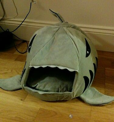 Large Mouth Shark House Washable Cat or Dog Bed