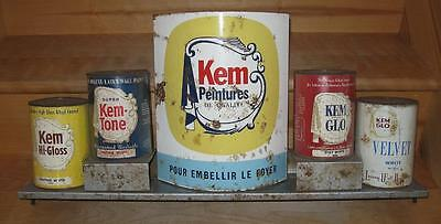 Vintage Kem Paint Store Display Advertising Rare