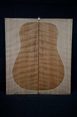 Curly Sinker Redwood Acoustic Guitar Soundboard Tonewood Luthier