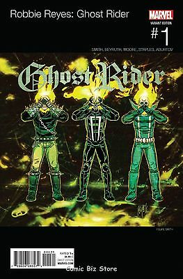 Ghost Rider #1 (2017) 1St Printing Smith Hip Hop Variant Cvr Marvel Now