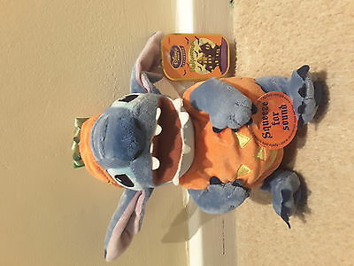 Halloween Stitch (Lilo and Stitch), laughs when you squeeze! From Disney Store