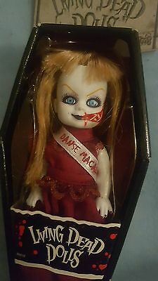 mini living dead doll gothic punk horror zombie prom queen