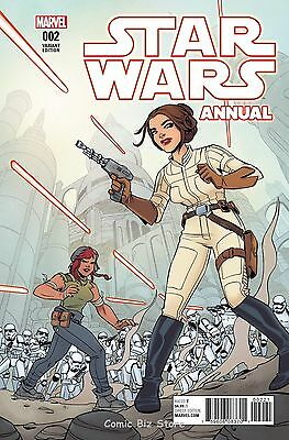Star Wars Annual #2 (2016) Marvel 1St Printing Charretier Variant Cover
