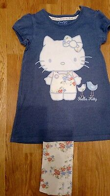 hello kitty outfit M&S age 3-4