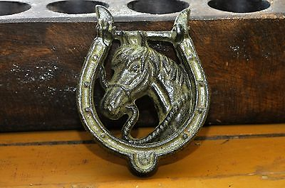 Hubley Horse Head Door Knocker