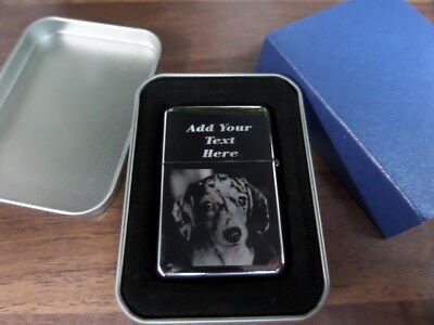 PERSONALIZED ANY PHOTO / TEXT ENGRAVED LIGHTER Xmas Christmas Day gift Birthday