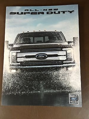 2017 Ford Super Duty 20-page Original Sales Brochure