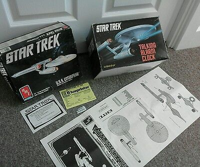 Star Trek Talking Alarm Clock by Wesco from the 90's Startrek and original boxes
