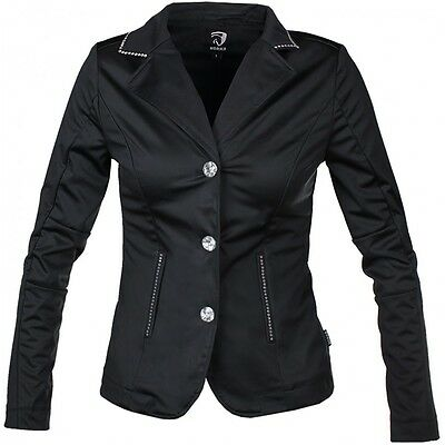 Horka Passage Black Softshell Show Jacket  Show Jumping Competition Bling