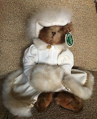 Retired Bearington Bear Doll Victoria With Tags