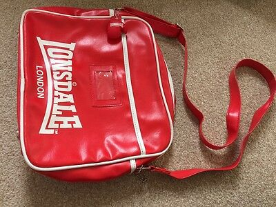 Lonsdale Red Bag