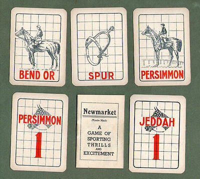 Collectable Vintage Cards game Newmarket