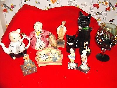 mr pickwick tea pot plus others by tony wood