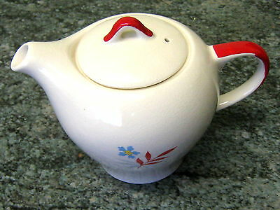 Wade Teapot Woodmist Red