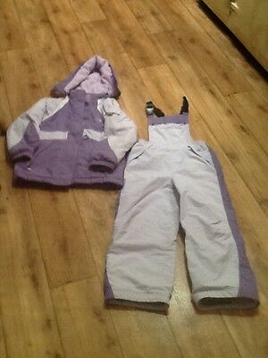 NEXT girls complete ski suit and jacket age 7-8