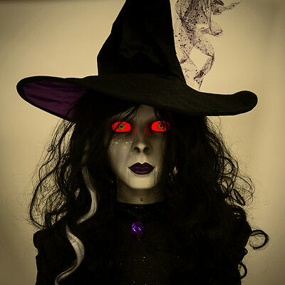 Halloween life size witch animated new 6 feet tall last one!!!