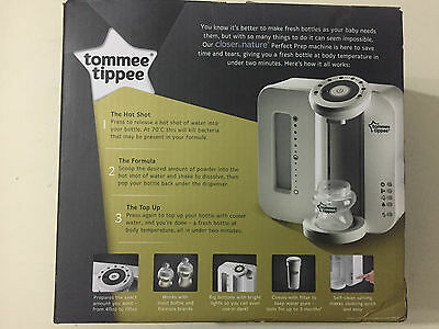 Tommee Tippee Perfect Prep Machine Feed Baby Milk Formula Bottle Maker White