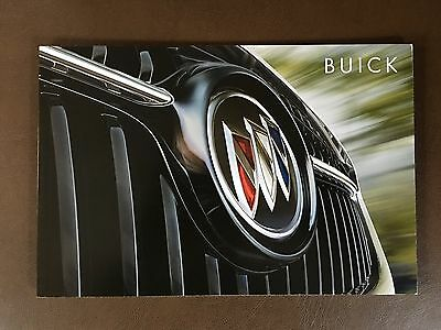 2017 BUICK FULL-LINE 34-page Original Sales Brochure